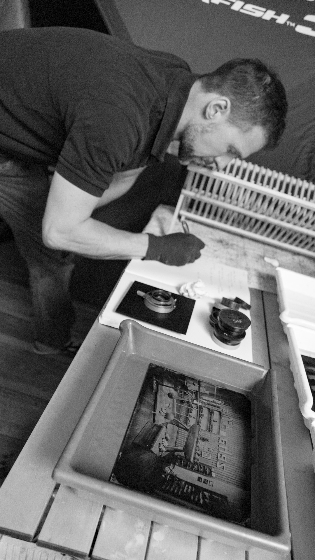 Christian Klant Wet Plate Photography for Zeha Berlin - Making Off