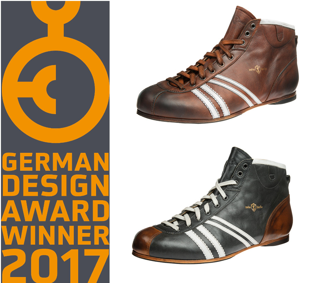 German Design Award 2017 & Zeha Sneaker