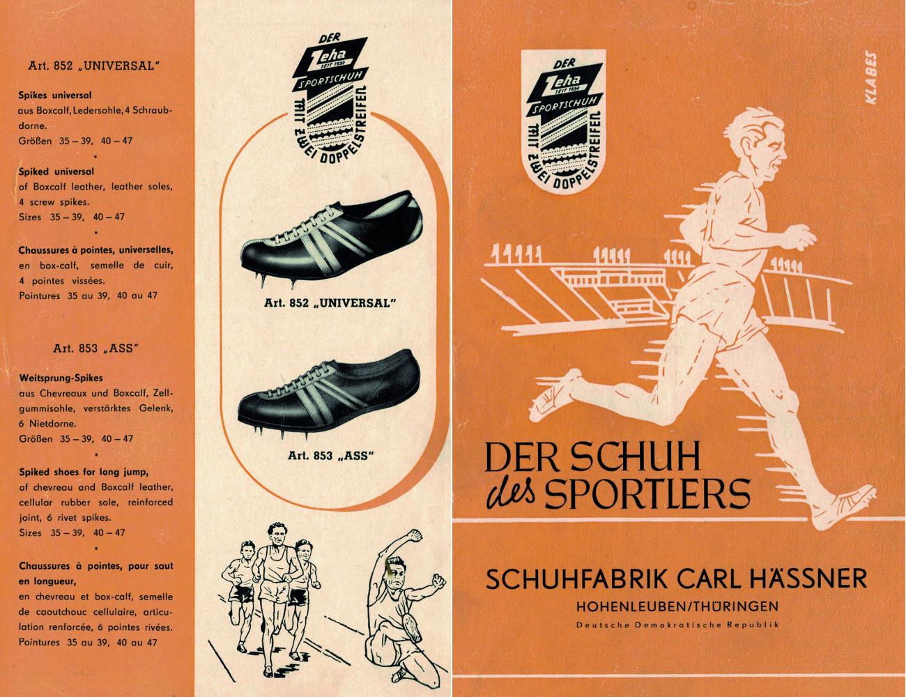 Zeha Sportschuh Katalogue