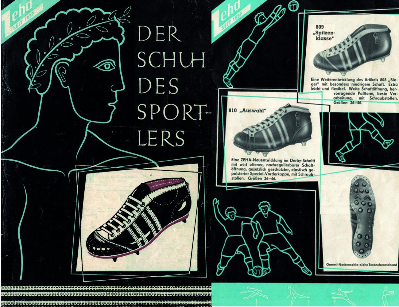 Zeha Fußbalsschuh Katalogue