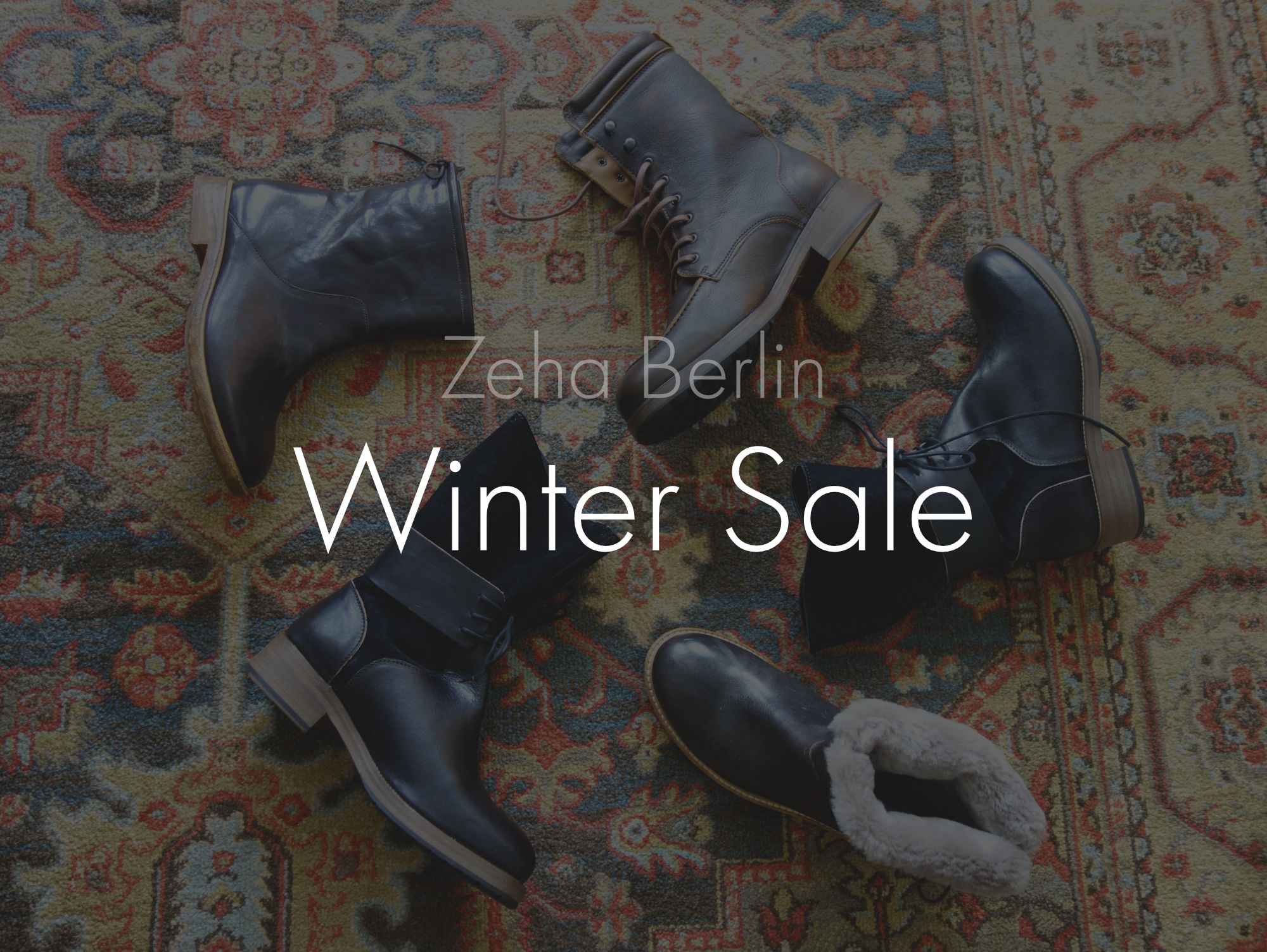 Zeha Berlin Winter Sale