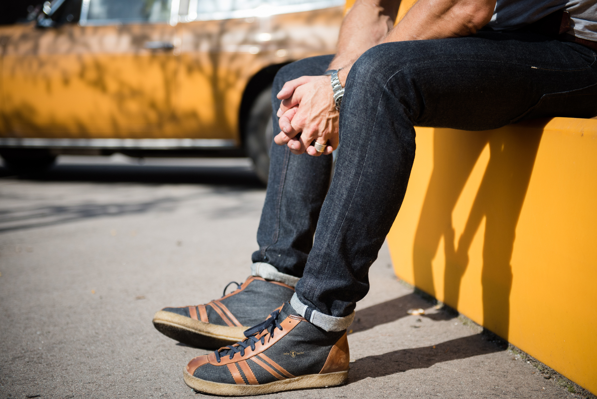 Blaumann Denim Sneaker Zeha Berlin