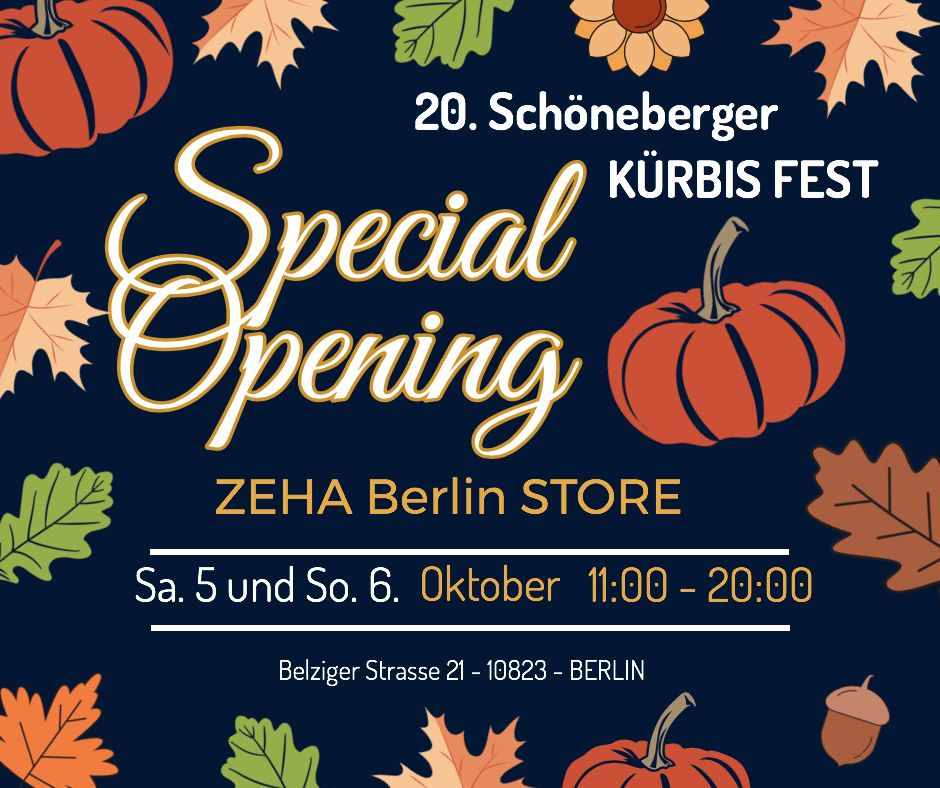 Zeha Berlin Schönberger Kürbisfest 2019