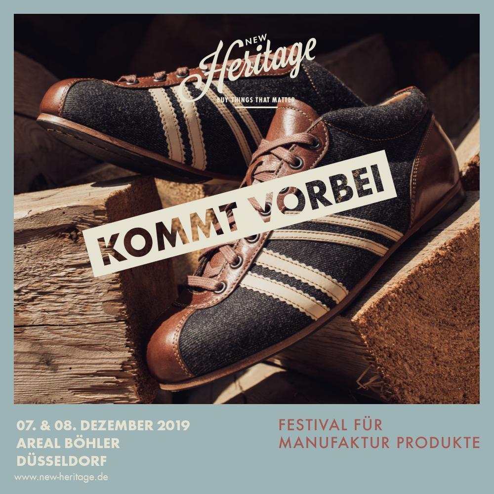 New Heritage Zeha München 2019_Blaumann für Carl Hässner Sneaker