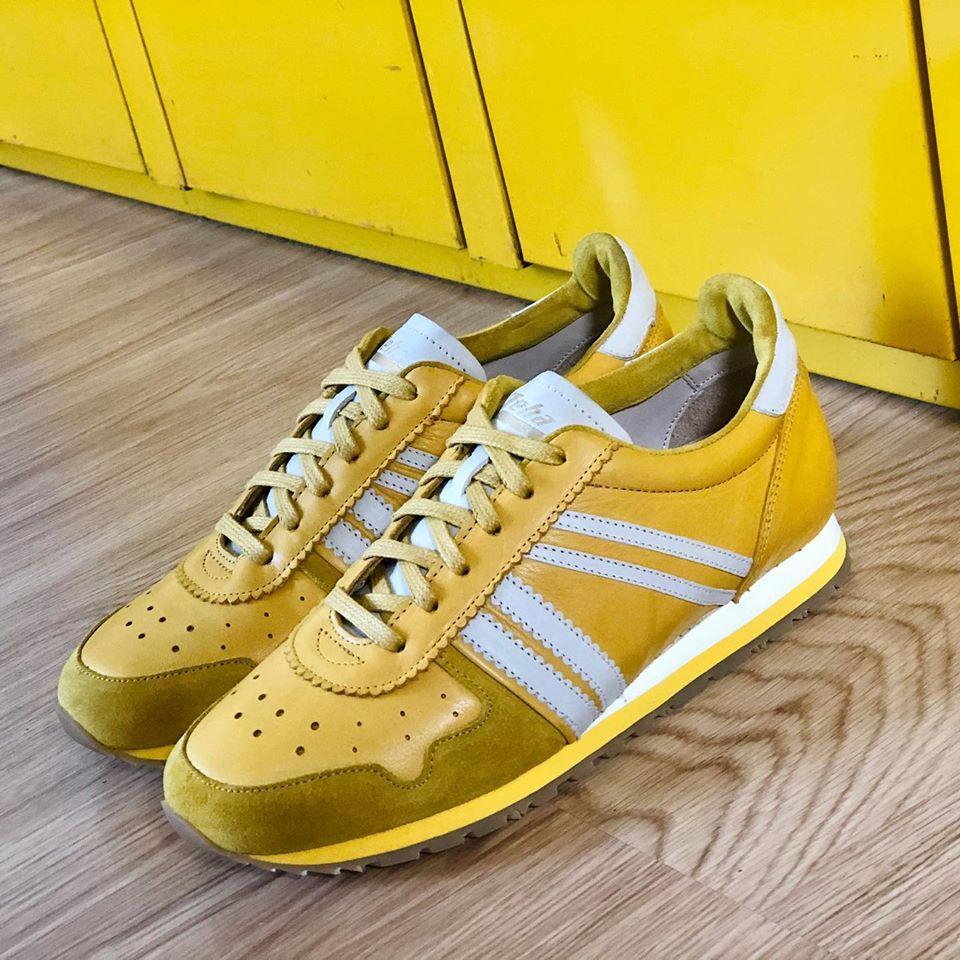 Zeha Berlin Marathon Sneaker yellow