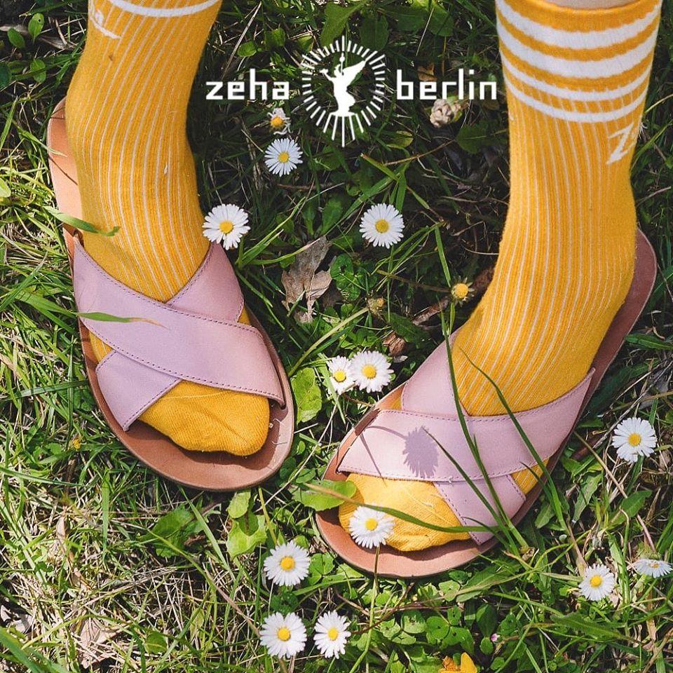 Zeha Berlin Urban Classics Pink Sandals for Women Summer 2020