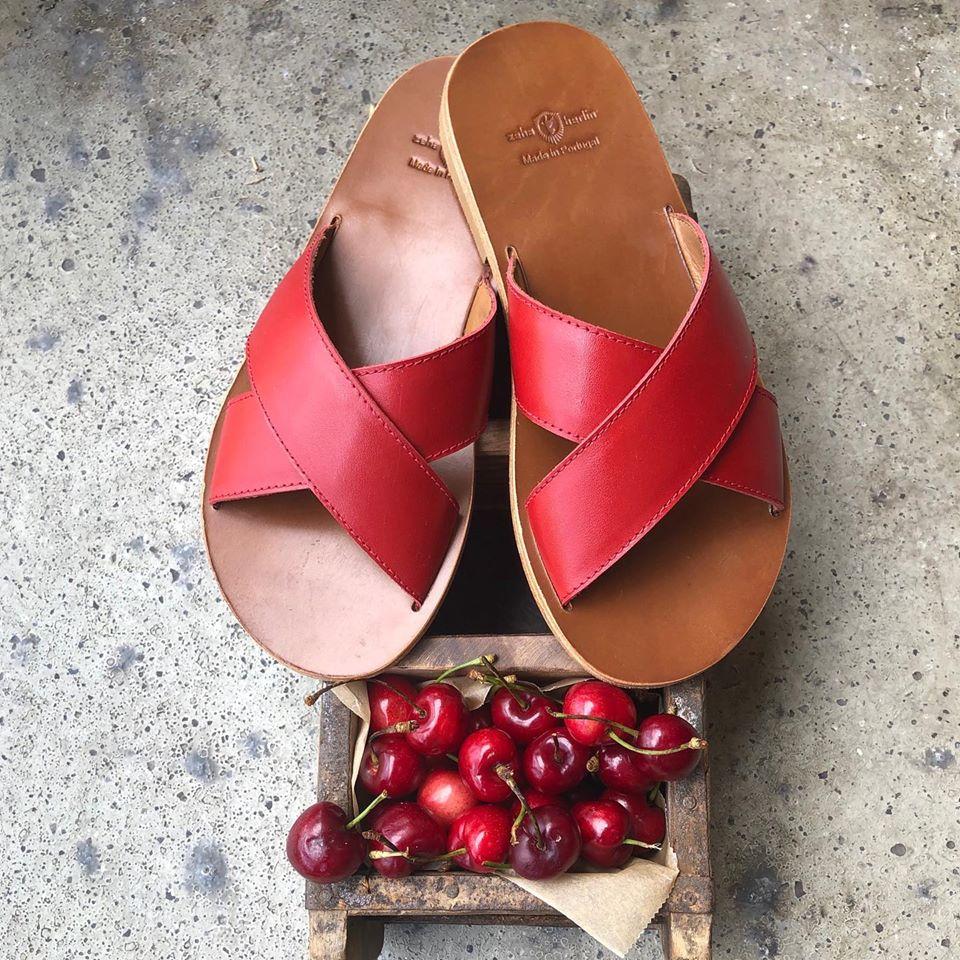 Zeha Berlin Urban Classics Red Sandals for Women Summer 2020