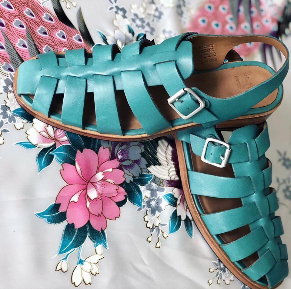 Zeha Berlin Urban Classics Sandals in türkis für Frauen Summer 2020