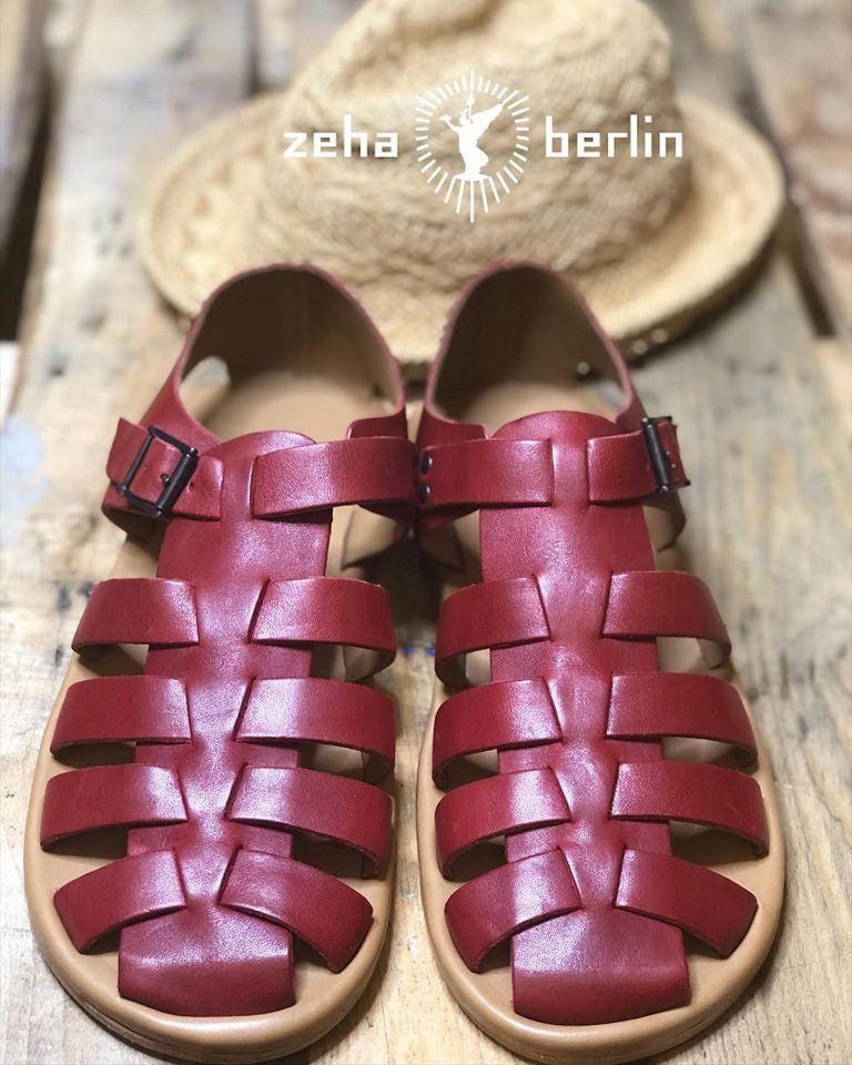 Zeha Berlin Urban Classics red Sandals for Men Summer 2020