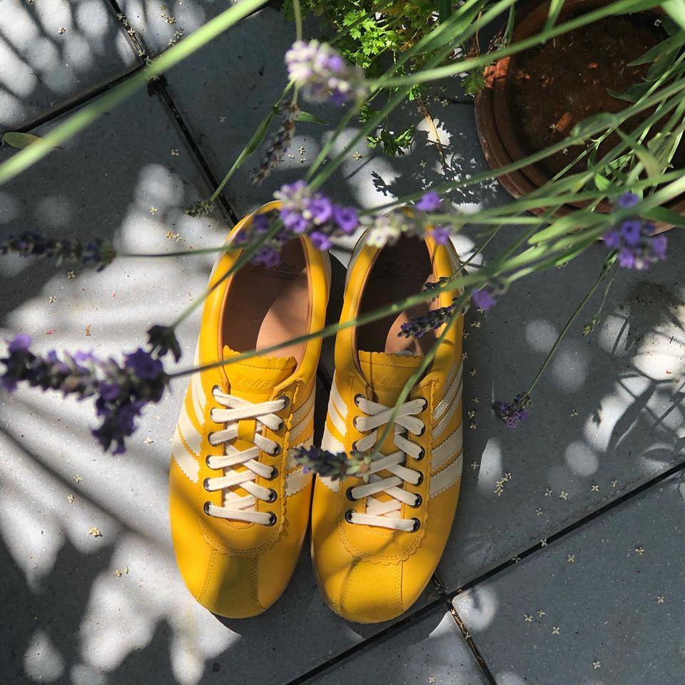 Zeha Berlin Sneaker Olympia yellow