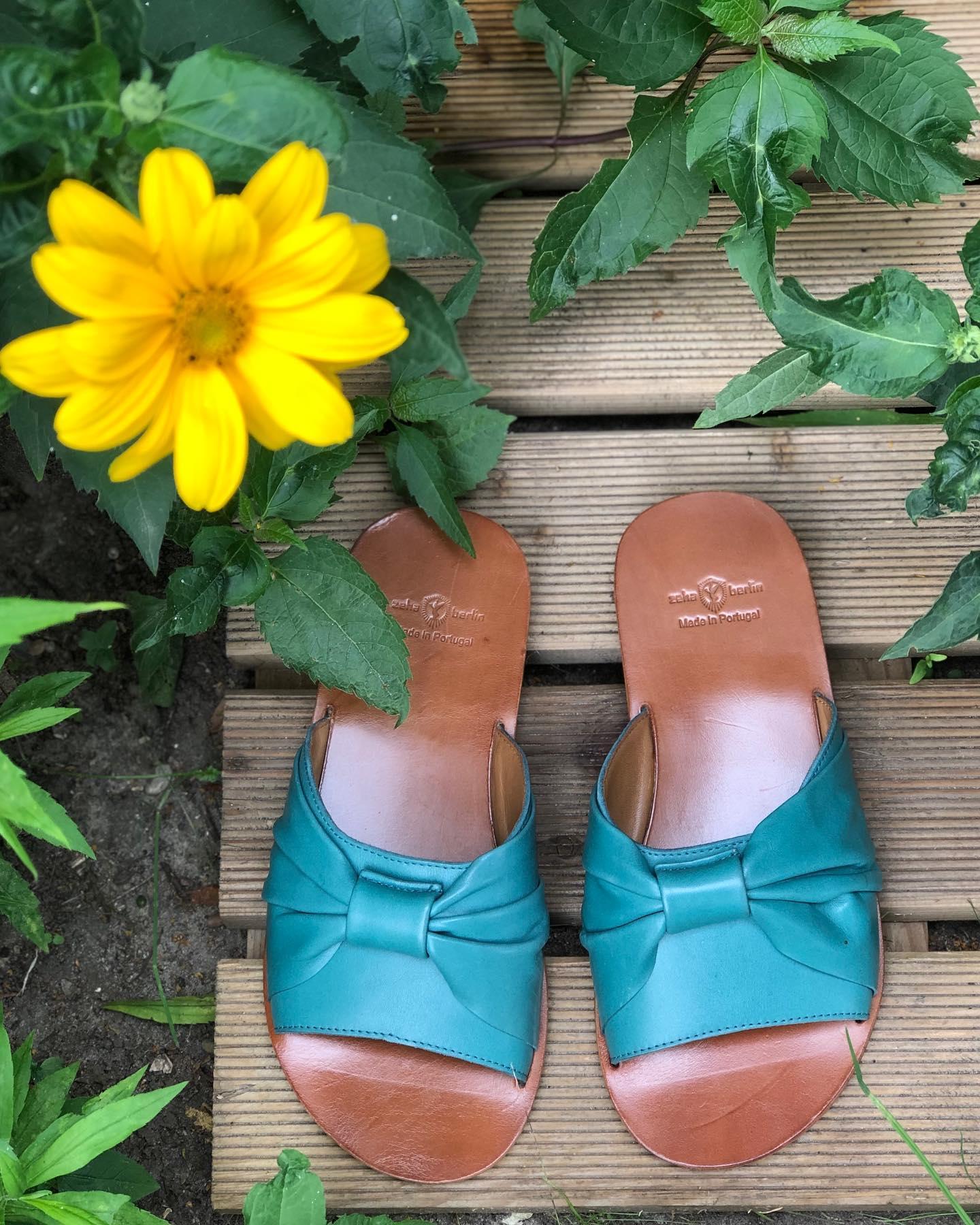 Damen Sandalern aus Leder Zeha Berlin Summer 2020