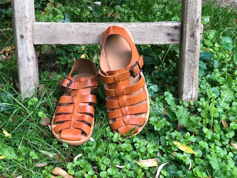 Männer Sandalern aus Leder Zeha Berlin Summer 2020