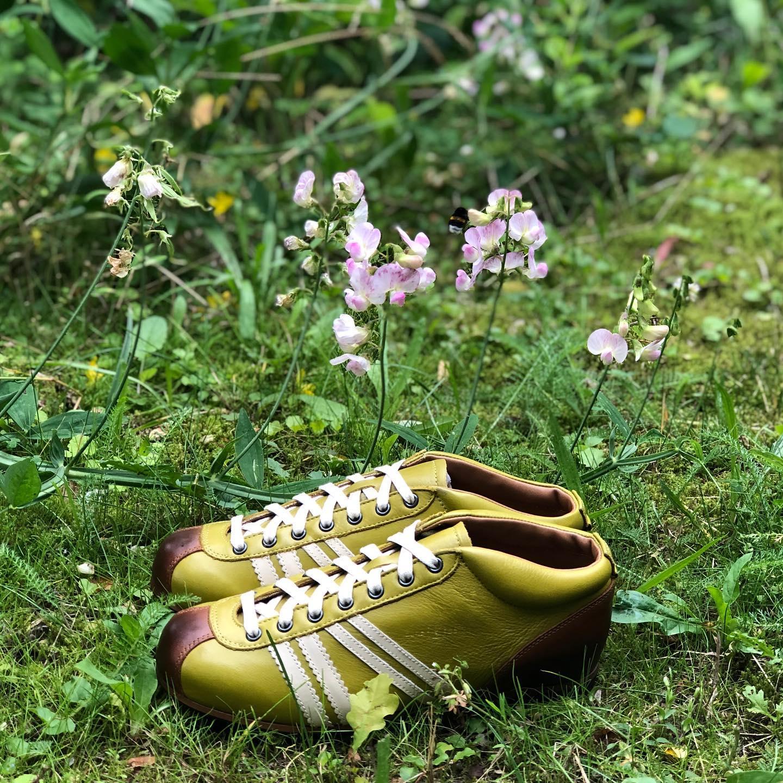 Zeha Berlin Carl Hässner Sneaker grün-braun