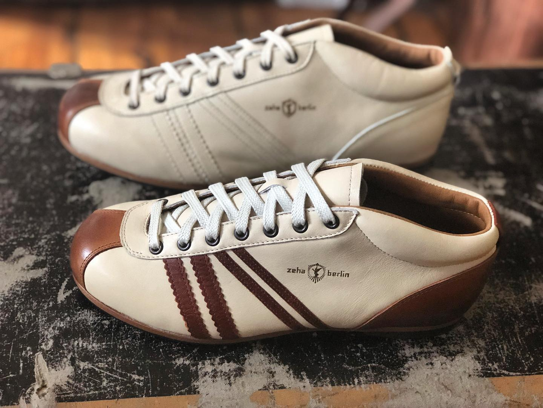 Zeha Berlin Carl Hässner Sneaker weiß-braun