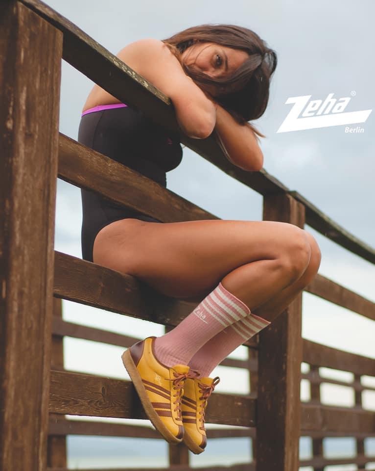 Zeha Berlin Trainer Low Top Sneaker yellow