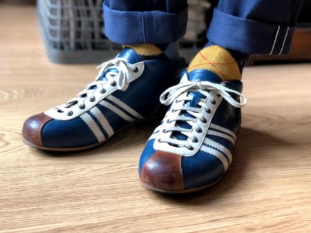 Zeha Berlin Sneaker Liga in blue Carl Hässner Collection