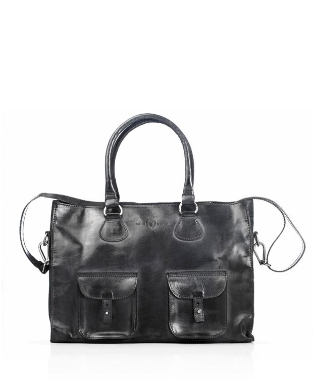 ZEHA BERLIN Accessories Bags cow hide leather unisex black