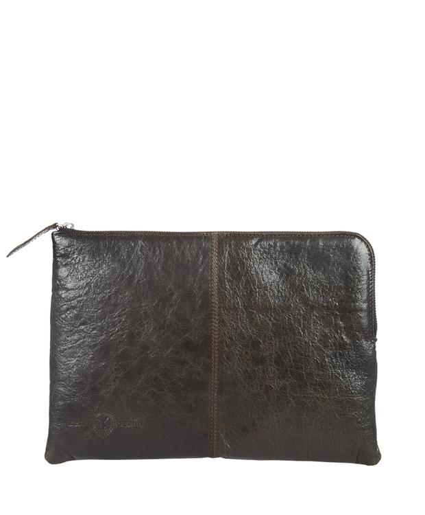 ZEHA BERLIN Accessories Bags calf leather Unisex dark green