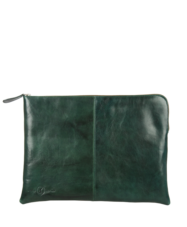 ZEHA BERLIN Accessories Bags cow leather, flank Unisex dark green