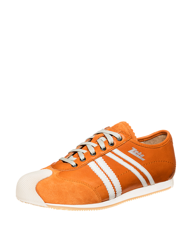 ZEHA BERLIN Streetwear Handballer calf leather Unisex orange / cream