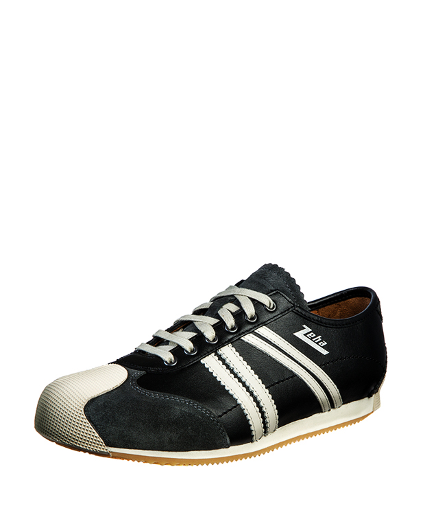 ZEHA BERLIN Streetwear Handballer calf leather Unisex black / creamwhite
