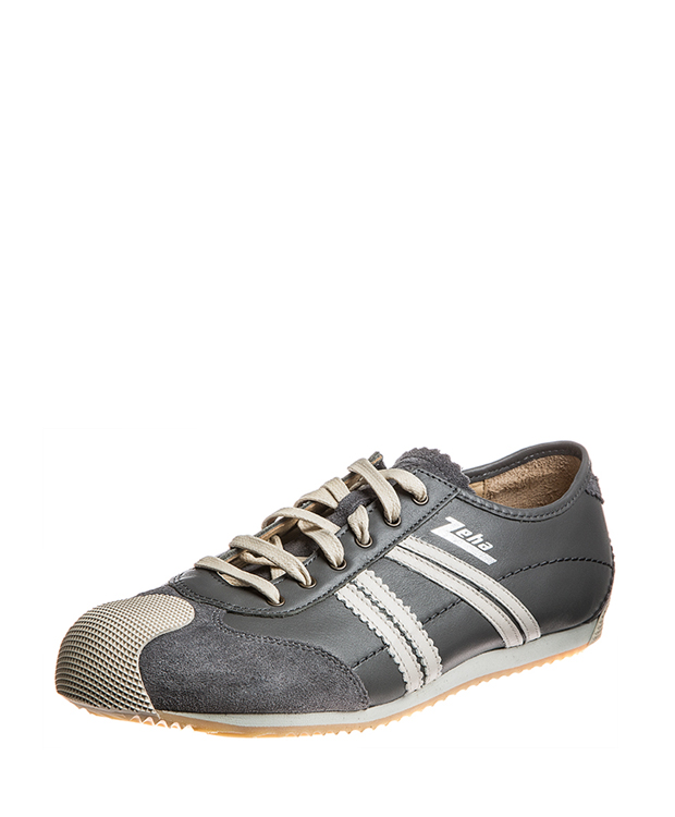 ZEHA BERLIN Streetwear Handballer calf leather Unisex grey / cream