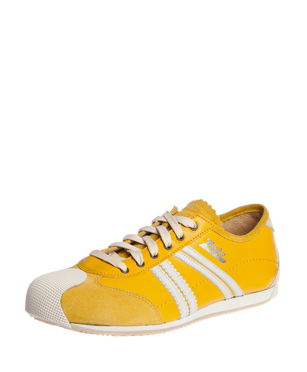 ZEHA BERLIN Streetwear Handballer calf leather Unisex yellow / cream