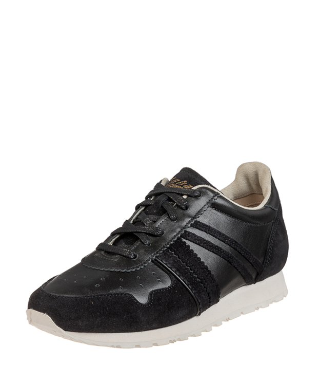 ZEHA BERLIN Streetwear Marathon calf leather Unisex black