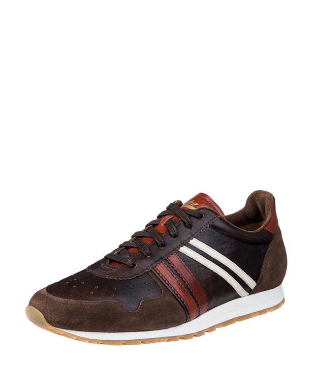 ZEHA BERLIN Streetwear Marathon calf leather Unisex brown / light brown / cream