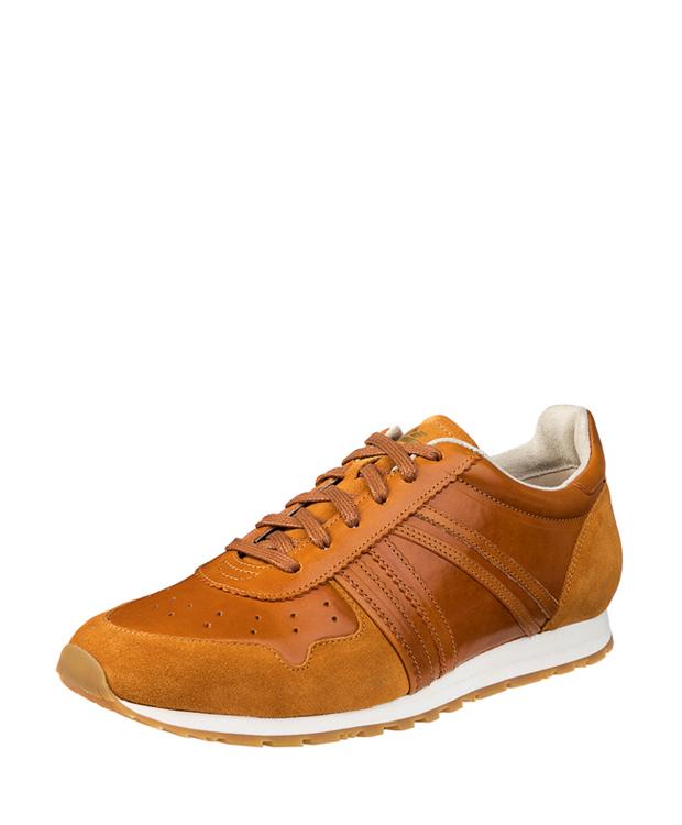 ZEHA BERLIN Streetwear Marathon Kalbsleder Unisex cognac