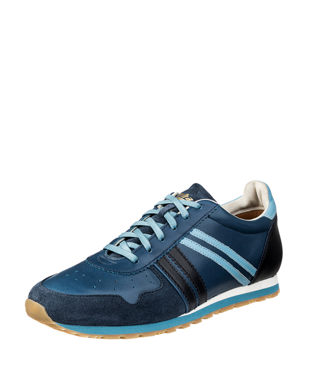 ZEHA BERLIN Streetwear Marathon calf leather Unisex medium blue / light blue / blue