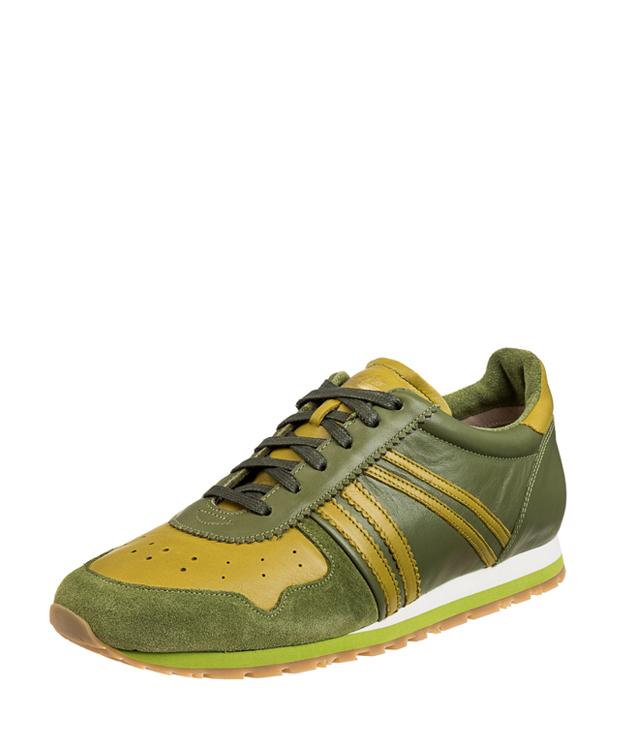 ZEHA BERLIN Streetwear Marathon calf leather Unisex aloe / light-green / aloe