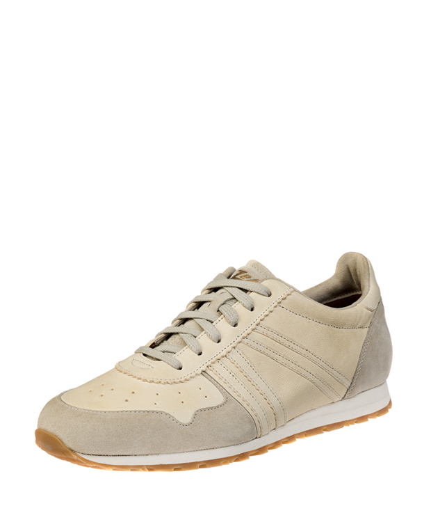 ZEHA BERLIN Streetwear Marathon calf leather Unisex cream / beige