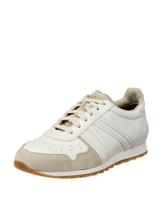 ZEHA BERLIN Streetwear Marathon calf leather Unisex cream / beige