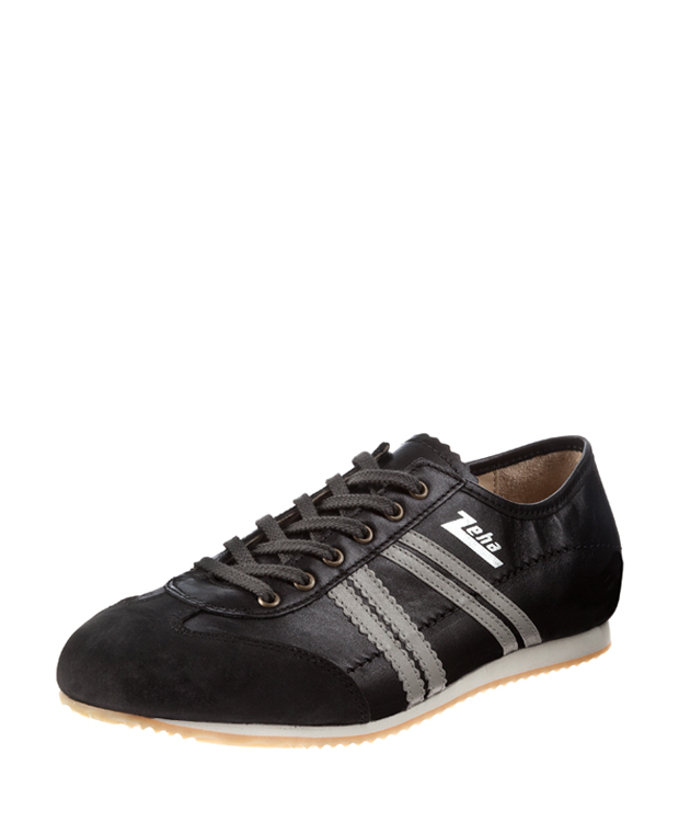 ZEHA BERLIN Streetwear Klassiker calf leather Unisex black / grey