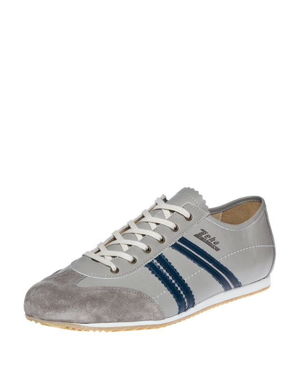 ZEHA BERLIN Streetwear Klassiker calf leather Unisex grey / blue