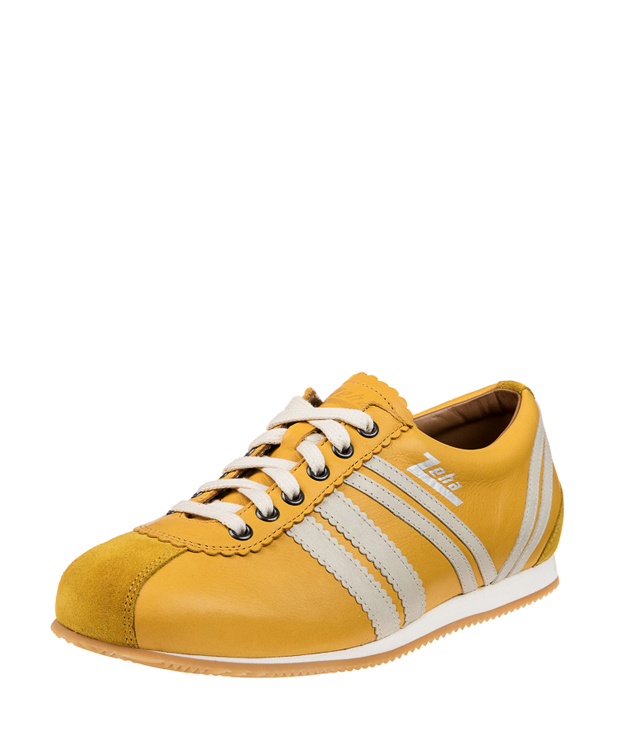 ZEHA BERLIN Streetwear Olympia caf leather Unisex yellow / cream