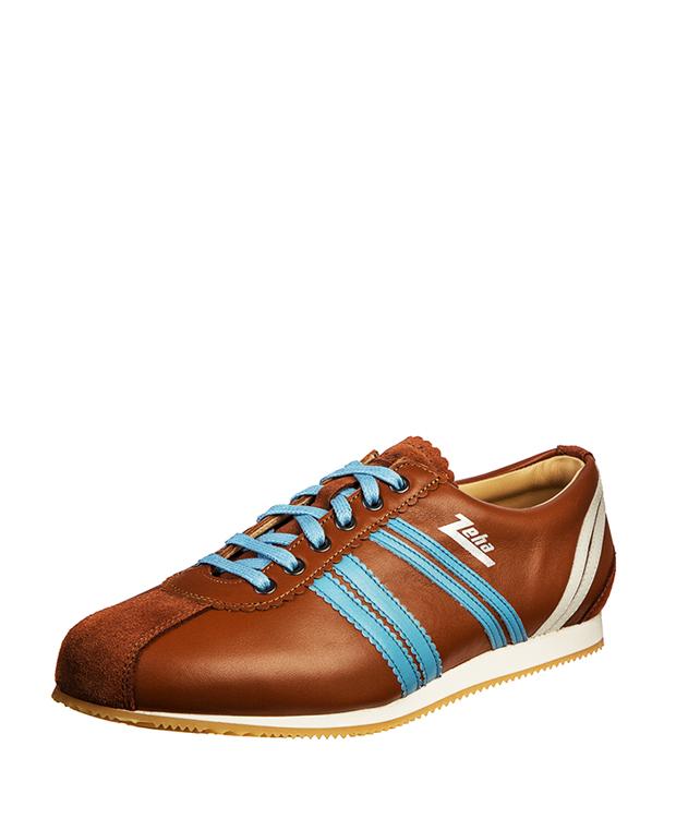 ZEHA BERLIN Streetwear Olympia calf leather Unisex cognac / brown