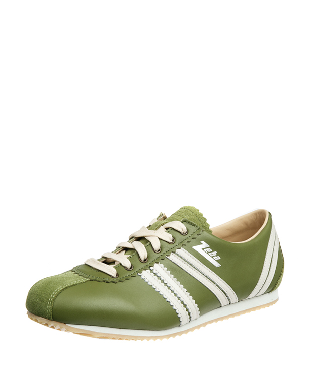 ZEHA BERLIN Streetwear Olympia calf leather Unisex light green / cream