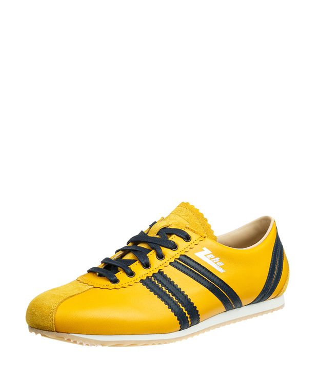 ZEHA BERLIN Streetwear Olympia calf leather Unisex yellow / cream