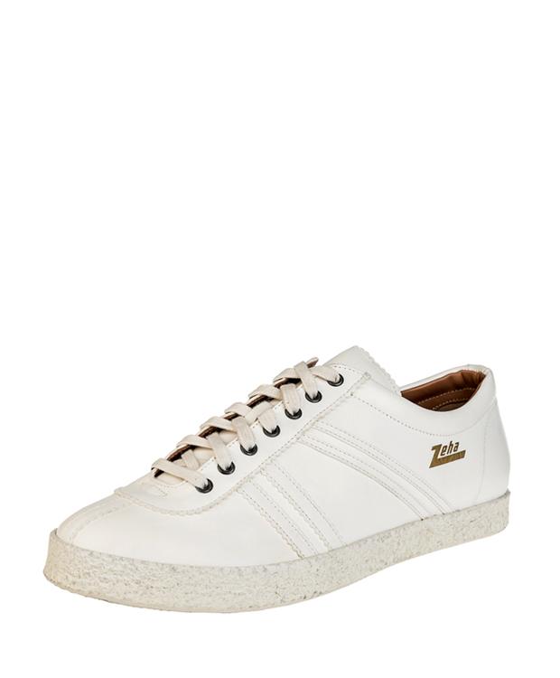 ZEHA BERLIN Streetwear Rekord calf leather Unisex cream / beige