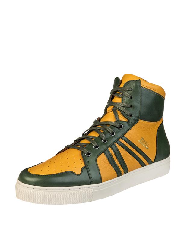 ZEHA BERLIN Streetwear Basketballer Unisex gelb / dunkelgrün
