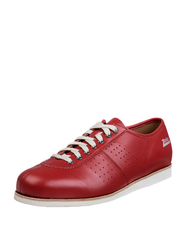 ZEHA BERLIN Streetwear Binz calf leather Unisex red