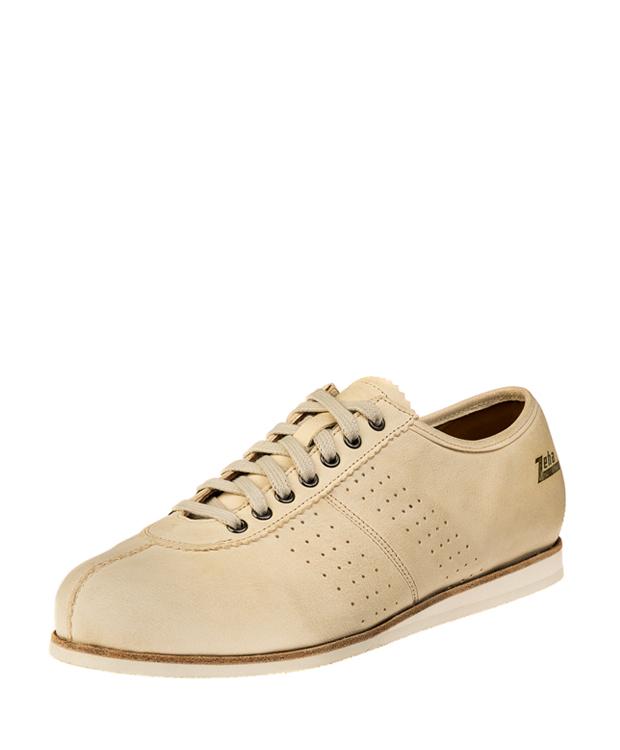 ZEHA BERLIN Streetwear Binz camel leather Unisex cream white