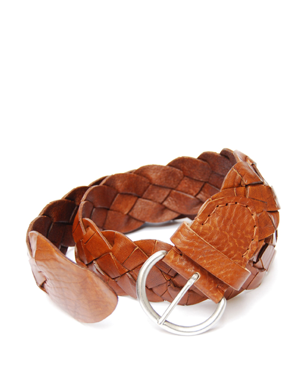 ZEHA BERLIN Accessoires Belts cow hide leather unsiex cognac