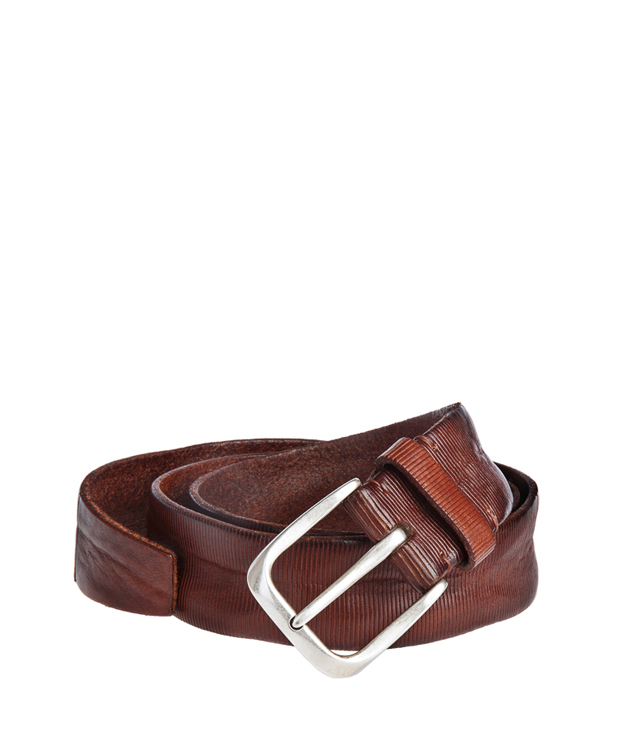 ZEHA BERLIN Accessoires Belts Cow hide leather Unisex cognac