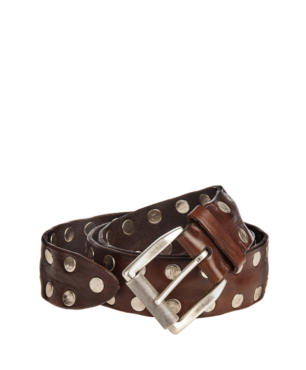 ZEHA BERLIN Accessoires Belts cow hide leather Unisex dark brown