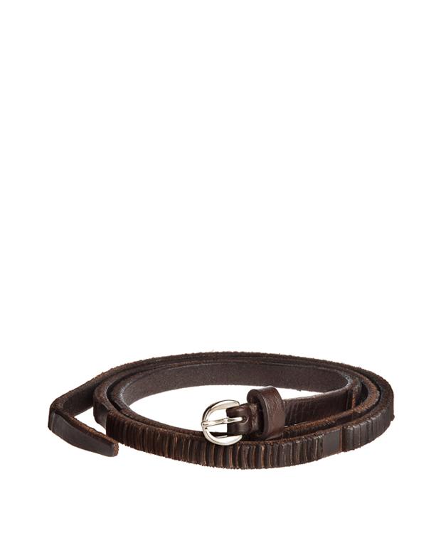 ZEHA BERLIN Accessoires Belts calf leather Unisex dark brown