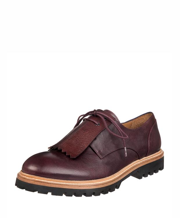 ZEHA BERLIN Urban Classics Dress shoe claf leather women bordeaux