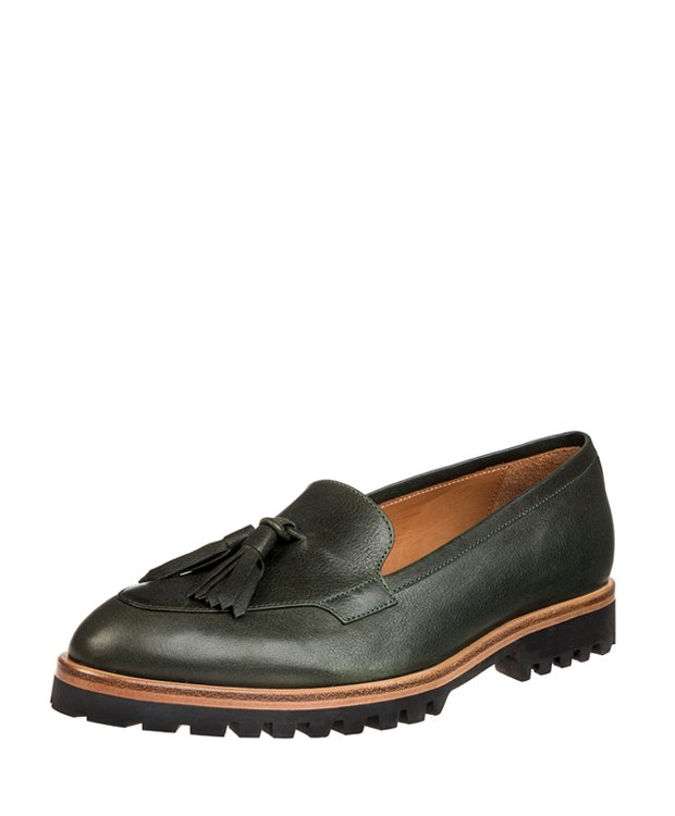 ZEHA BERLIN Urban Classics Dress shoe calf leather women green
